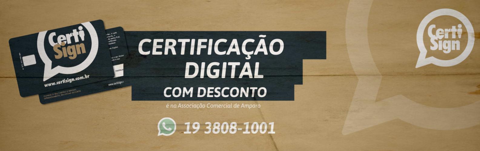 Certificado Digital Desconto