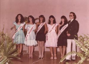 Arturzinho e Candidatas à Miss Associação