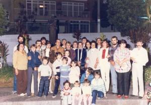 Familia D.  Rosa Maranim - Mãe Símbolo 1985