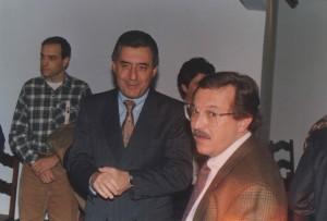 Guilherme Afif em visita à Amparo