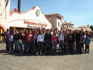 Viagem Hopi Hari 2010